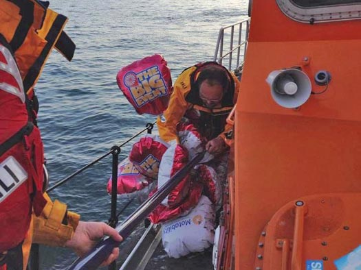 Donaghadee RNLI party balloons