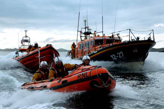 Pride and Spirit at Clifden RNLI