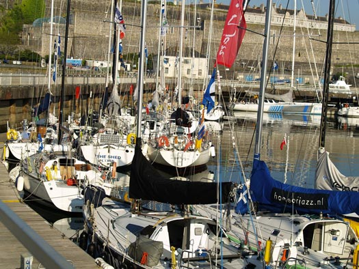 2010 Round Britain and Ireland Race start in Plymouth