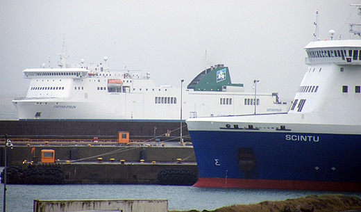 Continental rosslare routes ro pax rivals meet for first time - Rosslare ferry port arrivals ...