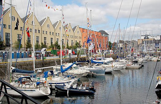 docks in Galway City