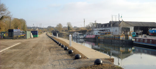 new moorings on the grand canal