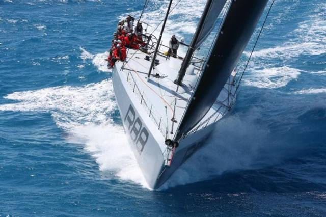 Rambler 88. George David is accustomed to breaking records: In 2011 with his larger Rambler 100, the monohull race record was set
