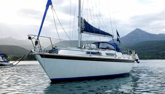 The upgraded 1985 Westerly Merlin