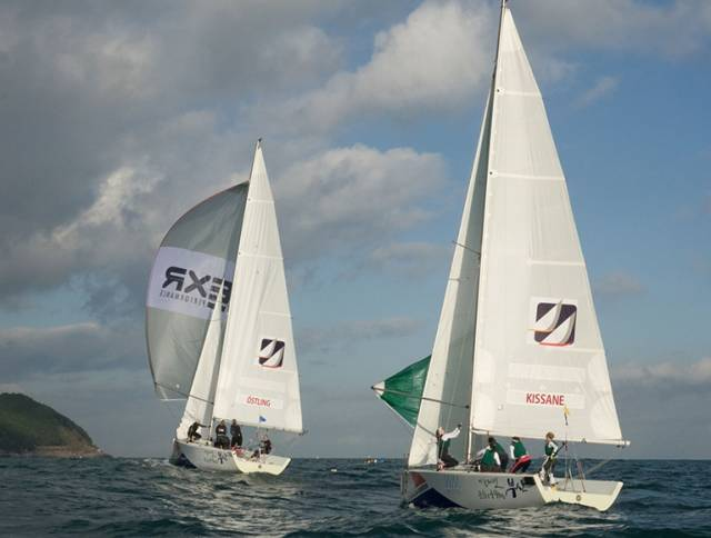 Howth Yacht Club's Kissane Lying 15th Overall in Women's Match Racing  After Busan Cup