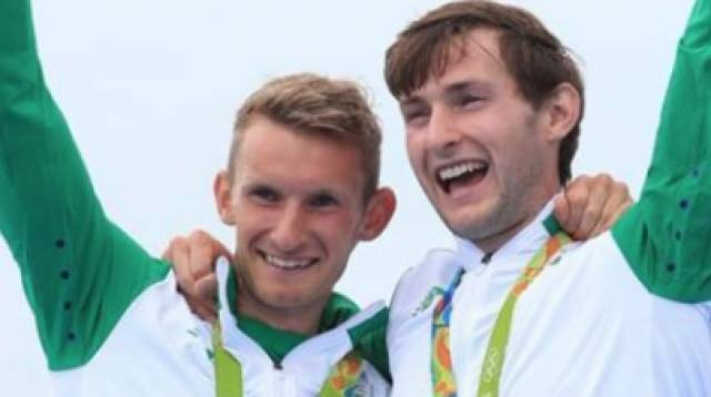 Gary and Paul O'Donovan Afloat Rowers of the Year