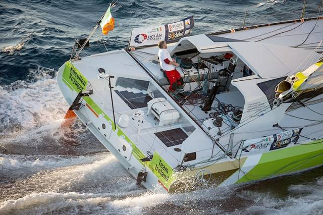Thomson First Into Southern Hemisphere, O'Coineen Considers Vendee Globe 'Scenic Route'