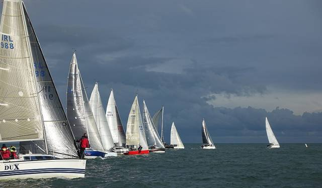 Having now completed four races, a discard now applies at Howth Yacht Club's Autumn League