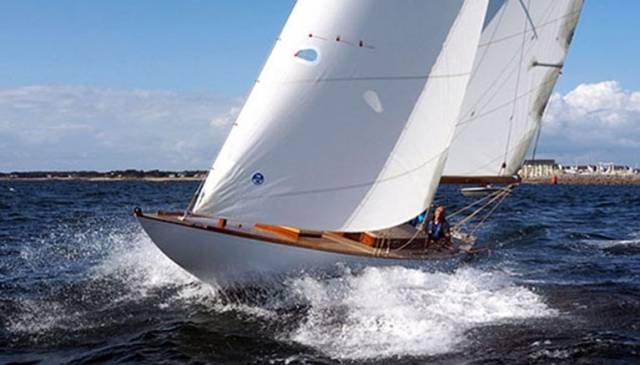 The restored Dublin Bay 24 Periwinkle, currently based in southern Brittany, would be a star turn in the Classic Yachts section in next year's Volvo Dun Laoghaire Regatta if she could be persuaded to return for the celebration of the Bicentenary of Dun Laoghaire Harbour in 2017.