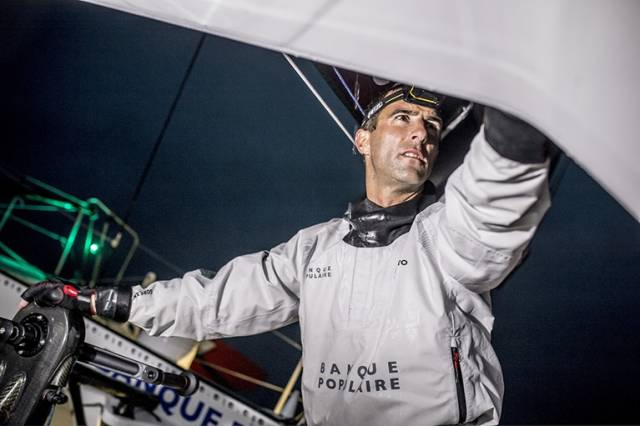 Armel Le Cléac'h - 24 hours from Vendee Globe victory