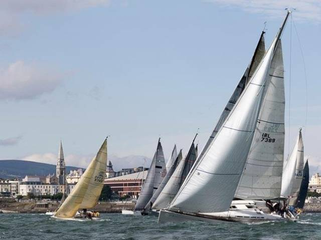 "The ""Suburban Seafest"". Volvo Dun Laoghaire Regatta from 6th to 9th July 2017 will be providing racing in the bay for 30 classes."