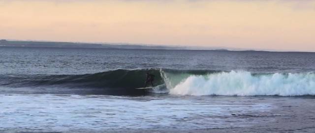 Surfing at Lahinch in a still from 'Beyond the Break'