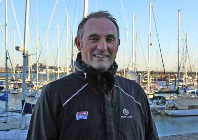 Mark Light was deputy race director from 2012 after skippering Derry~Londonderry~Doire around the world